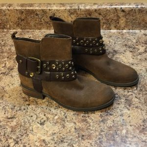 Guess Ankle Buckle Boots